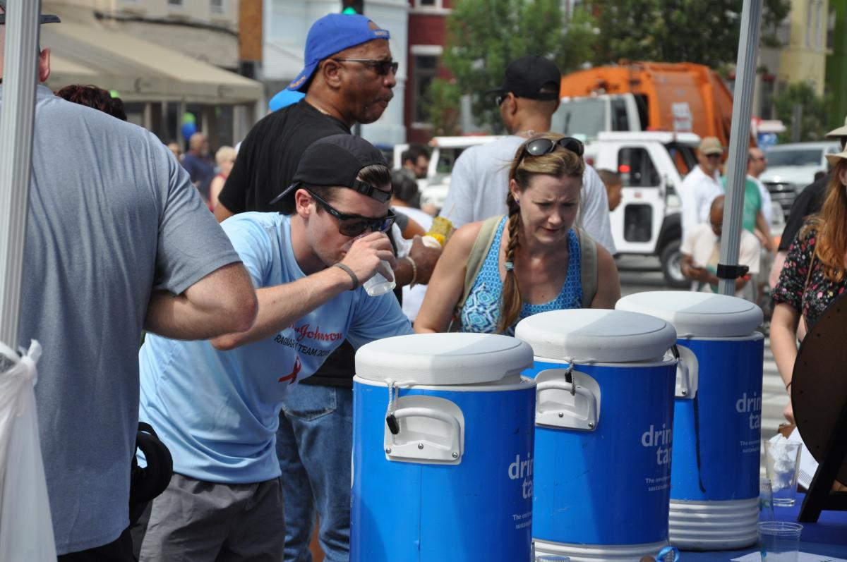 Photo of DC Water Outreach at Festival