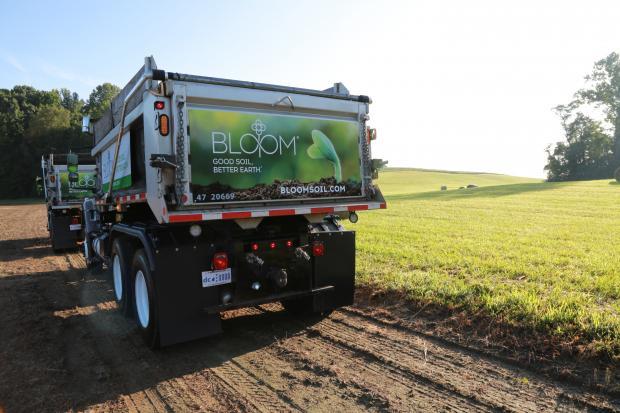 Bloom Trucks in the field
