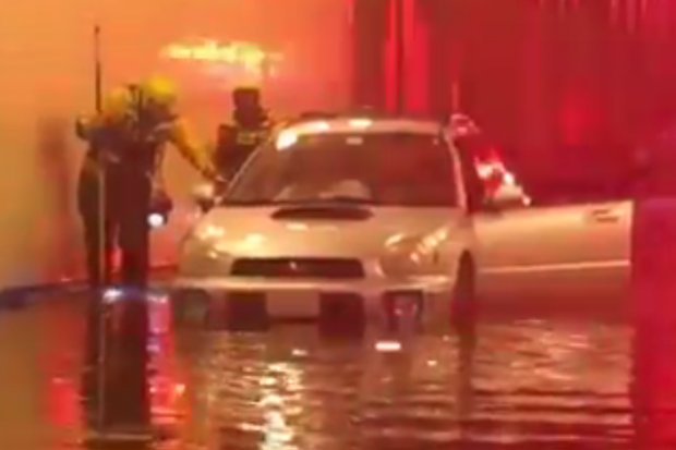 Flooding in NW DC on August 12