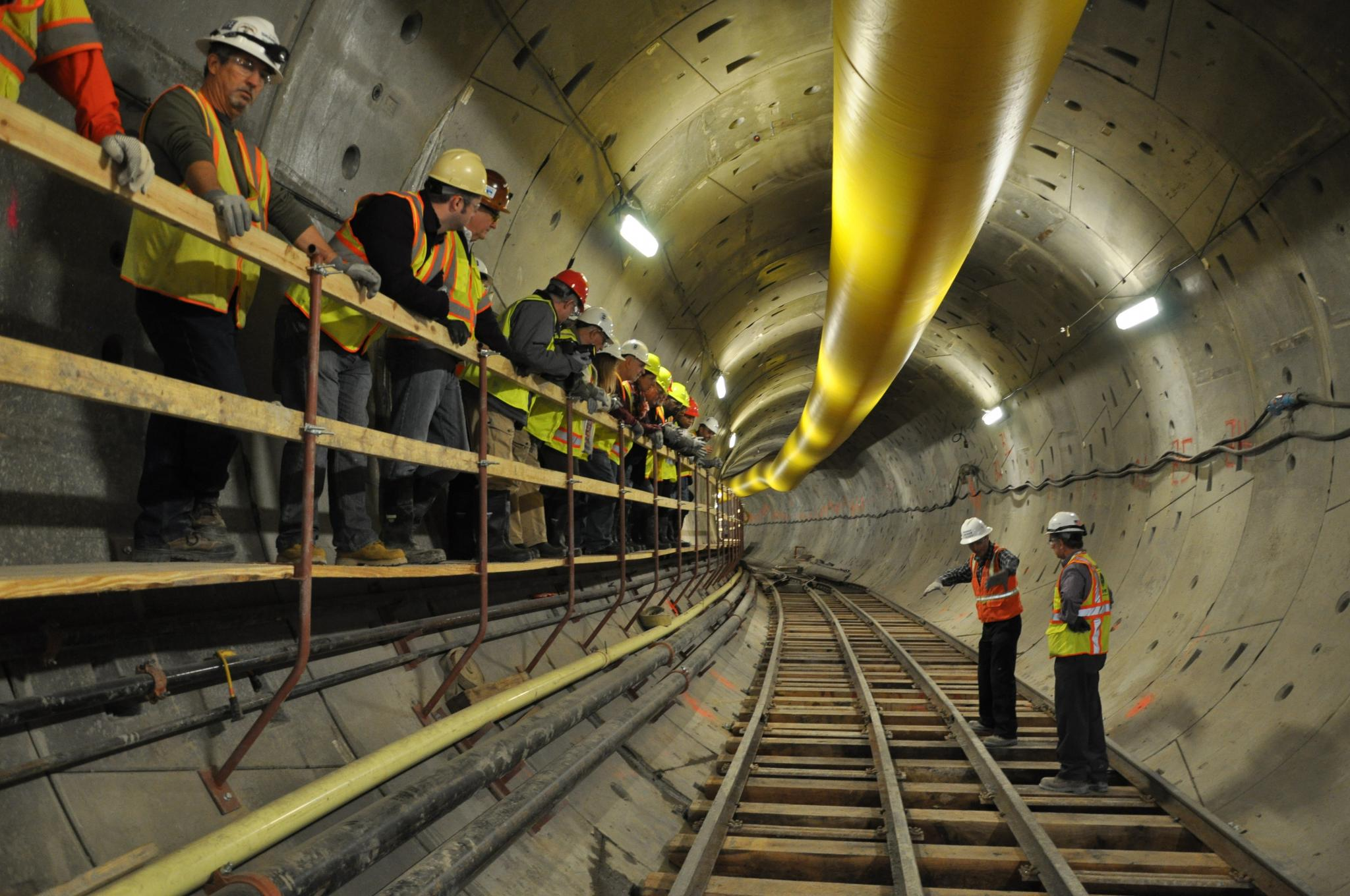 Photo of Community Tour of First Street Tunnel