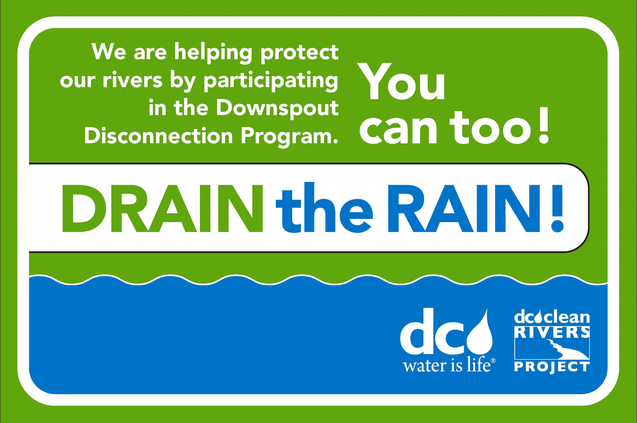Drain the Rain Ad