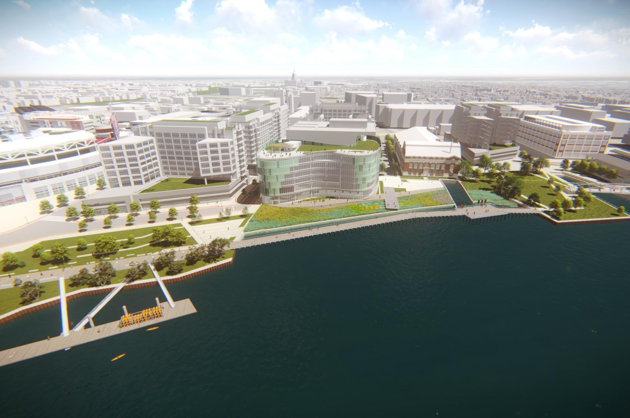 New DC Water Administrative Headquarters