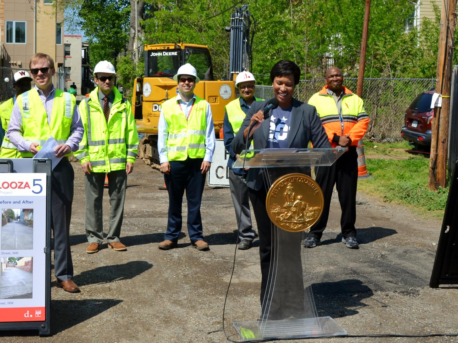 Alleypalooza 5 kickoff event with Mayor Bowser and DDOT