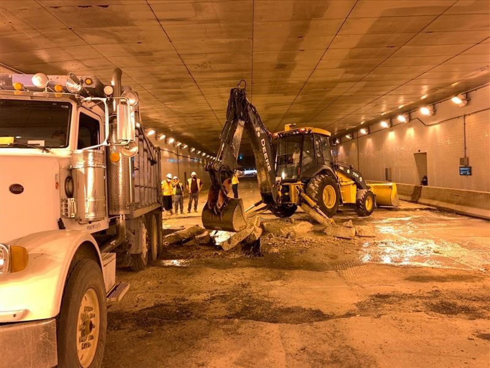 3rd Street Tunnel Restoration