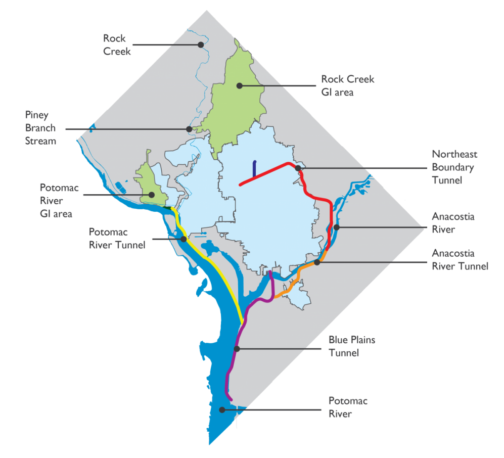 Clean Rivers Project | DCWater com