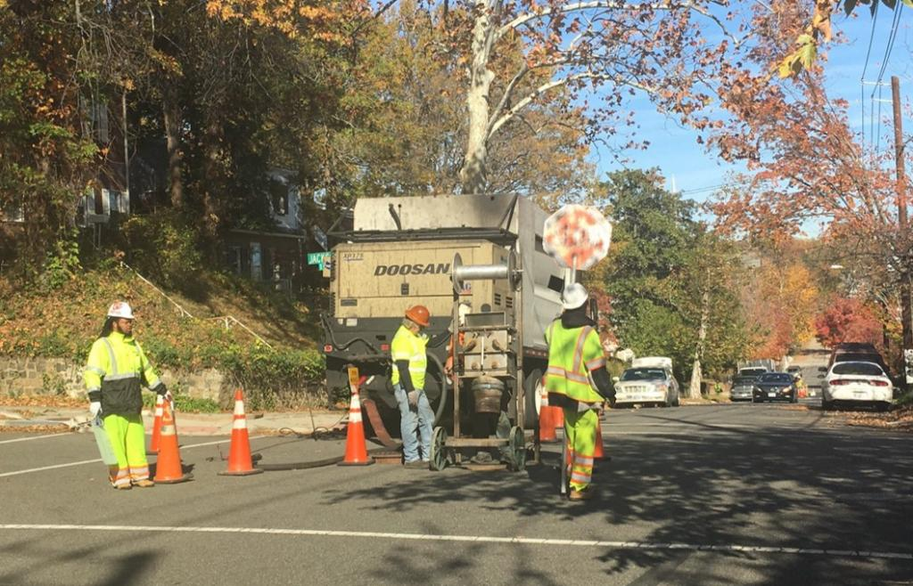 local sewer rehabilitation project brookland area dcwater com